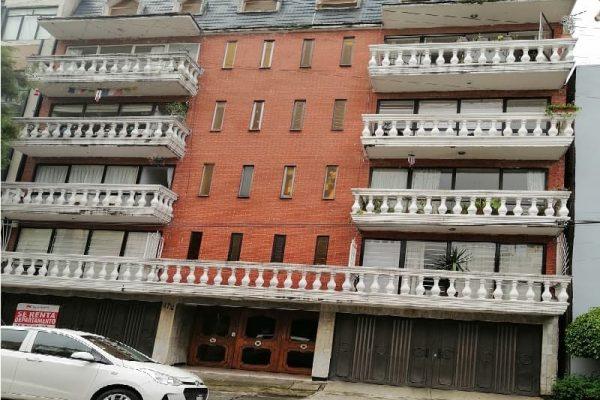 Departamento en renta Roma Sur, Cuauhtémoc