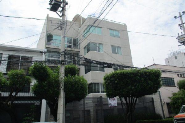 Departamento en renta Narvarte entre Morena y Xola