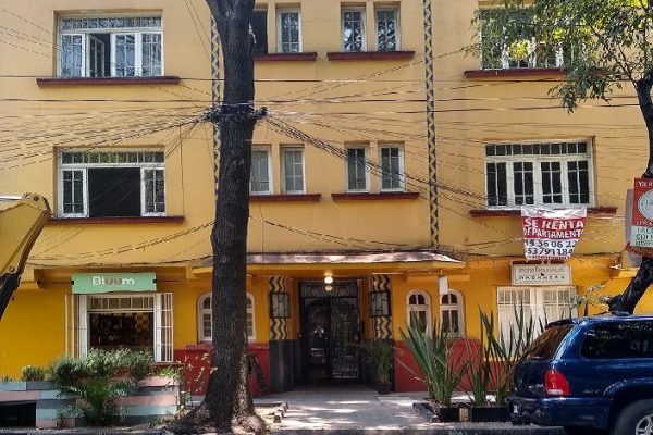 Departamento en renta Juárez