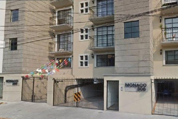 Departamento en renta Zacahuitzco, Benito Juárez